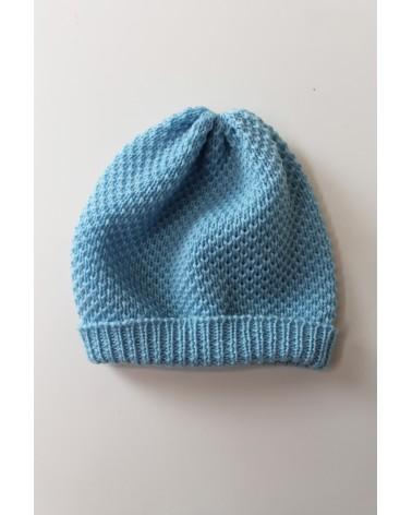 Cappellino neonato in lana merinos 100%